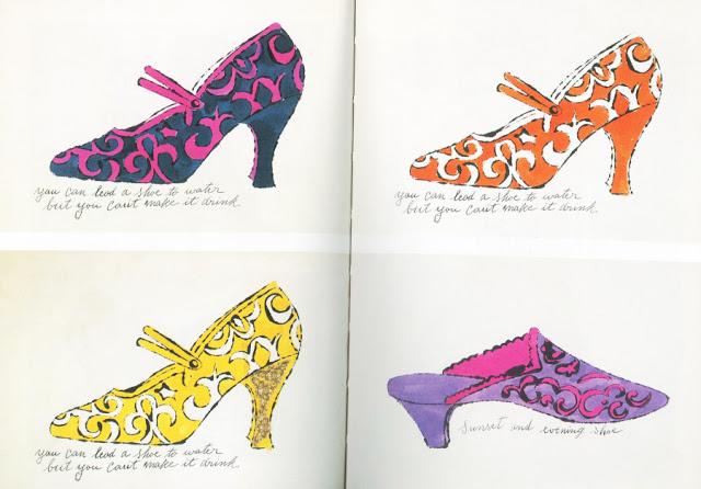 ilustracja butów A. Warhol
