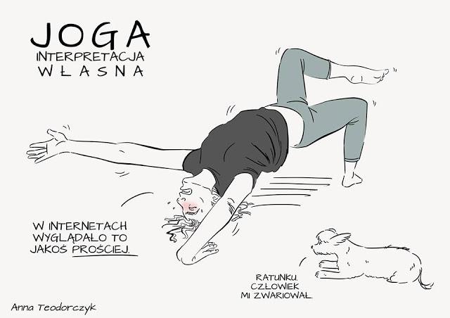 Ilustracja Joga
