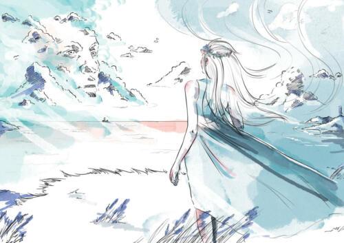 Odwiedziny | ilustracja opowiadania D. Jawulska
