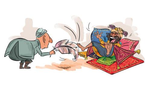 Anna-Teodorczyk-ilustracje-draco-basnie-arabskie