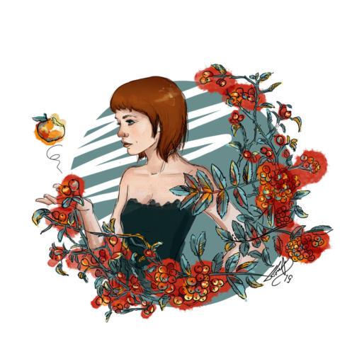 Ilustracja Jesień (ilustracja własna)